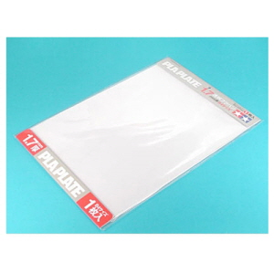 [TA70128] CLEAR PLA-PLATE 1.7mm B4 SIZE